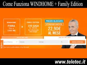 Come Funziona WINDHOME + Family Edition - Fibra e Giga