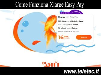 Come Funziona WindTre Xlarge Easy Pay