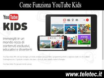 Come funziona youtube kids