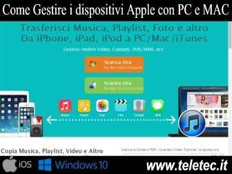 Come Gestire i dispositivi Apple con PC e MAC - Alternativa a iTunes