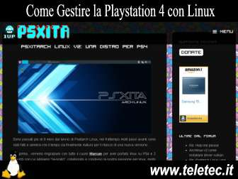 Come Gestire la Playstation 4 con Linux - Psxitarch