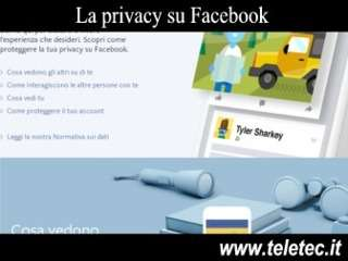 Come gestire la privacy su facebook