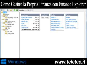 Come Gestire la Propria Finanza con Finance Explorer