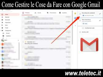 Come Gestire le Cose da Fare con Google Gmail - Tasks