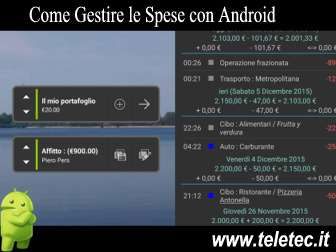 Come Gestire le Spese con Android - My Expenses
