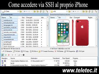 Come Gestire l'iPhone tramite WiFi e SSH