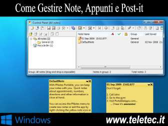 Come Gestire Note, Appunti e Post-it su Windows con PNotes