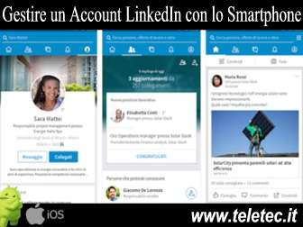 Come Gestire un Account LinkedIn con Android e iOS