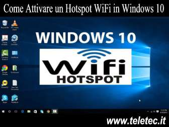 Come Gestire un Hotspot WiFi in Windows 10