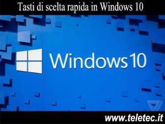 Come Gestire Velocemente Windows 10 da Tastiera - Tasto Windows senza Segreti (Parte 2)