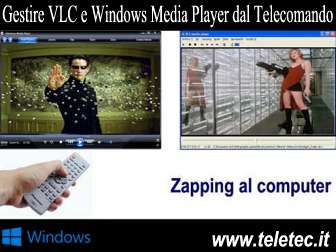 Come Gestire VLC e Windows Media Player con il Telecomando