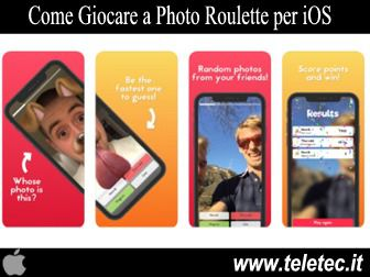 Come Giocare a Photo Roulette per iOS