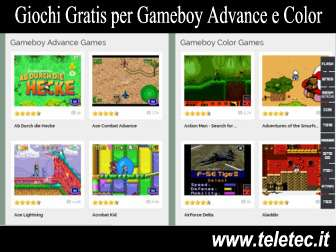 Come Giocare Gratis e Online con i Giochi del Gameboy Advance e Color