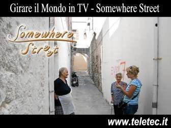 Come Girare il Mondo con Somewhere Street su NHK TV