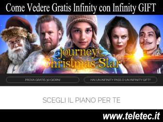 Come Guardare Gratis Infinity con Infinity GIFT