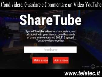 Come Guardare Tra Amici i Video di YouTube Sincronizzati al Secondo - ShareTube