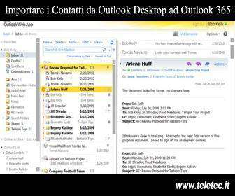 Come Importare i Contatti da Outlook Desktop ad Outlook 365