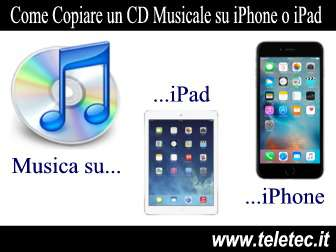 Come Importare un CD Musicale su iPhone o iPad