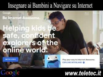 Come Insegnare ai Bambini a Navigare su Internet con Google - Be Internet Awesome