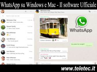 Come Installare e Usare WhatsApp su Windows e Mac