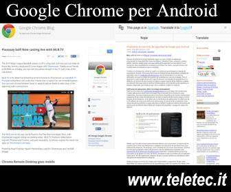 Come Installare il Browser Google Chrome su Android