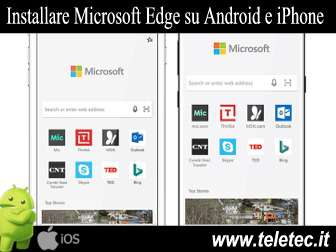 Come Installare Microsoft Edge su Android e iPhone
