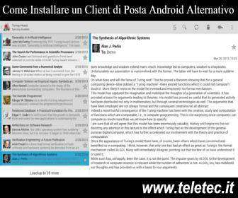 Come Installare un Client di Posta Android Alternativo