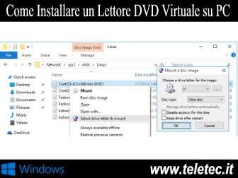 Come Installare un Lettore DVD Virtuale su PC