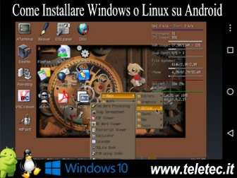 Come Installare Windows o Linux su Smartphone e Tablet Android