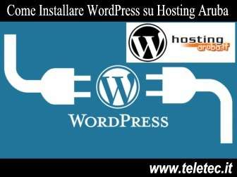 Come installare wordpress su hosting aruba