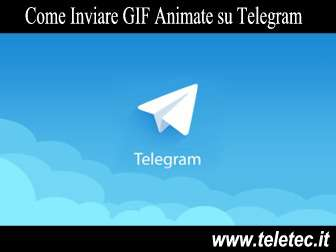 Come Inviare GIF Animate su Telegram