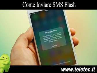 Come Inviare SMS Flash con Android