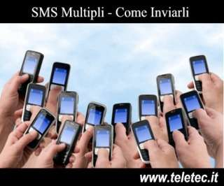 Come Inviare SMS Multipli con Android