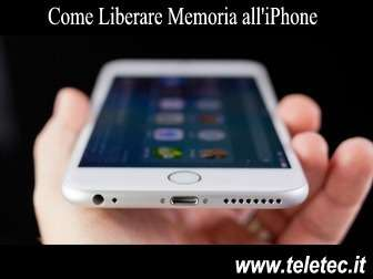 Come Liberare Memoria dall'iPhone
