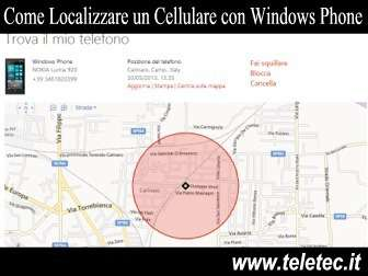 Come Localizzare un Cellulare con Windows Phone