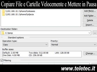 Come Mettere in Pausa la Copia o il Trasferimento dei File su Windows - Copy Handler