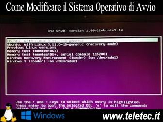 Come Modificare il Sistema Operativo di Avvio da un Sistema Dual Boot con Linux e Windows