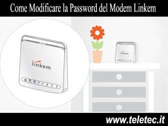 Come Modificare la Password del WiFi nel Modem Linkem