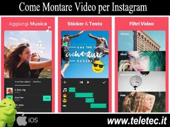 Come Montare Video per Instagram - InShot