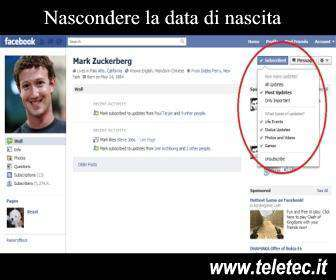 Come Nascondere la Data di Nascita su Facebook
