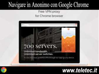 Come Navigare in Anonimo con Google Chrome e DotVPN