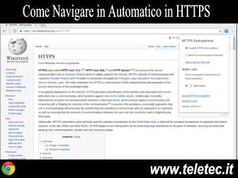 Come Navigare qualsiasi Sito in Automatico in HTTPS con Google Chrome