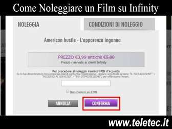 Come Noleggiare un Film su Infinity