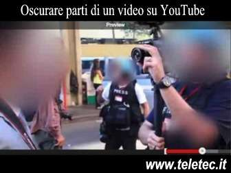Come Oscurare parti di un video su YouTube