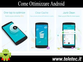 Come Ottimizzare Android - Booster & Cleaner