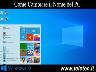 Come Personalizzare il Nome del PC su Windows 10