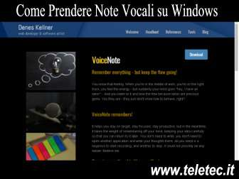 Come Prendere e Organizzare Note e Appunti Vocali su Windows - VoiceNote