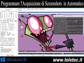 Come Programmare l'Acquisizione di Screenshots in Automatico su Windows 10