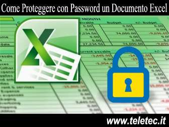 Come proteggere con password un documento excel