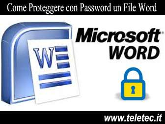Come proteggere con password un file word